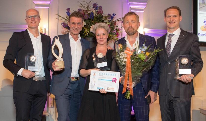 Foto: winnaars Business Event gemeente Zeist. Foto: Menno Bausch