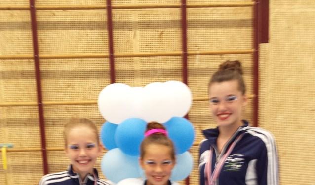 Accelerando deed het uitstekend op haar eigen twirlwedstrijd!