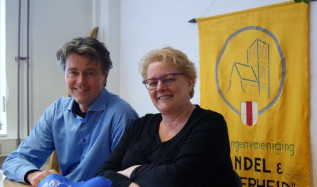 Robert Jansen en Liesbeth Klee verwachten dat het nieuwe festival ervoor zal zorgen dat Brielle nóg aantrekkelijker wordt voor het publiek.