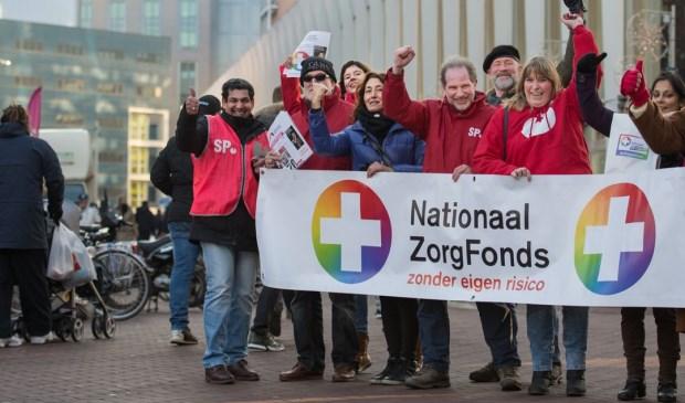 Het actieteam van de SP Dordrecht. (foto: pr)