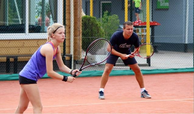 Vanaf nu kunnen tennissers zich inschrijven voor het QuoVadis open toernooi van Rijnhuyse.