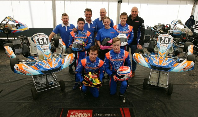Het team van Kuijer Racing uit Breukelen gaat er helemaal voor dit jaar.