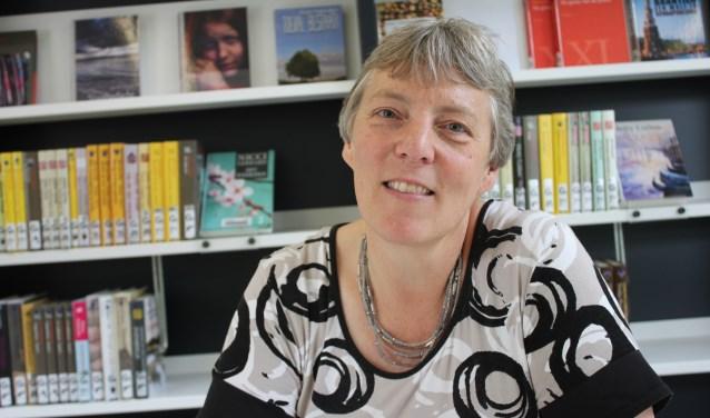 Gerda Blok van Bibliotheken Krimpenerwaard, één van de initiatiefnemers.