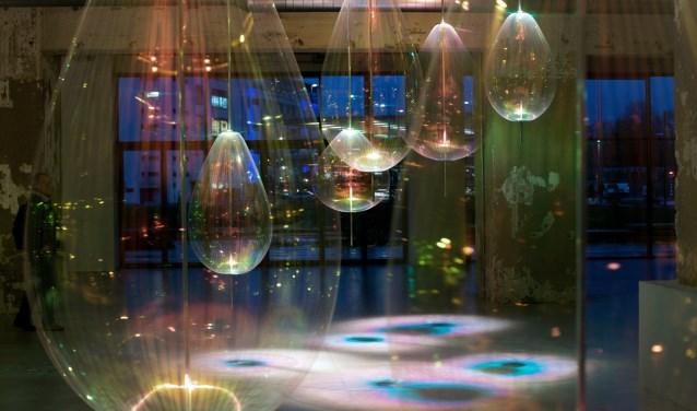 Dit werk van Michiel Martens en Jetske Visser heeft Reflecting Holons. Foto: Bollman