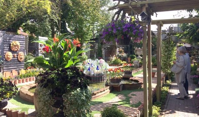 Elke tuin is een kunstwerk op zich.