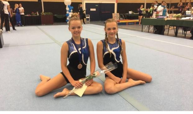 Danique Boxman en Lotte Kivits turnden in de regio finale Zuid