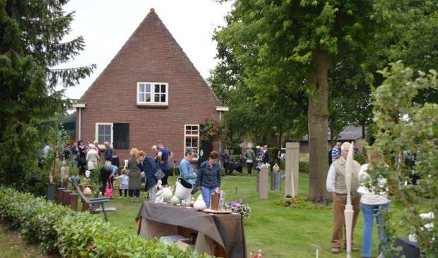 De tweedaagse expositie Beeldend Bosrand in Boxtel was een groot succes.