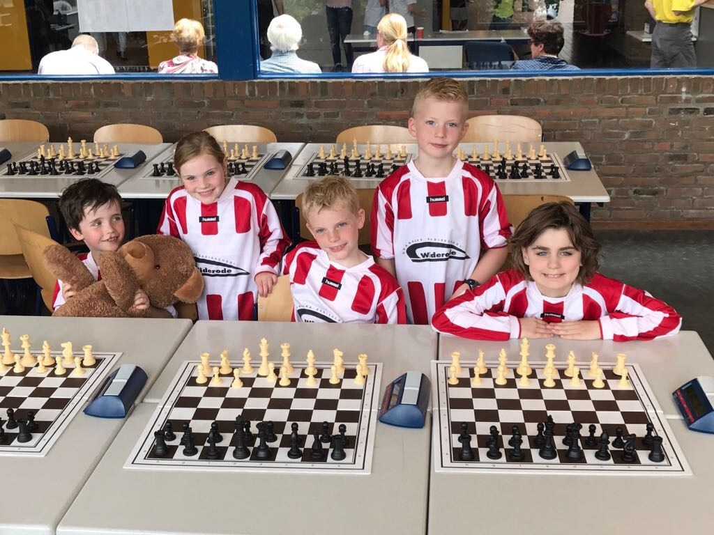 De Driehoek - Widerode schoolschaakkampioen Overijssel!