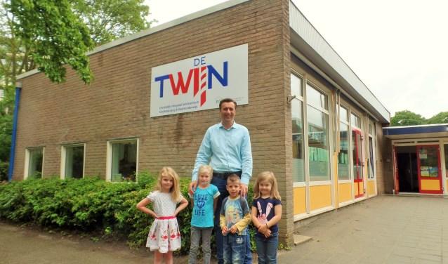 Martijn Beekman zet zich dagelijks in voor de kinderen van de Twijn. (Foto: Anja Helmink)