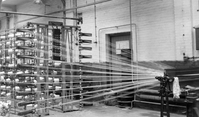 Na WOII kwamen de Boxtelse weverijen al snel in zwaar weer door de opkomst van de lageloonlanden. FOTO: MUBO