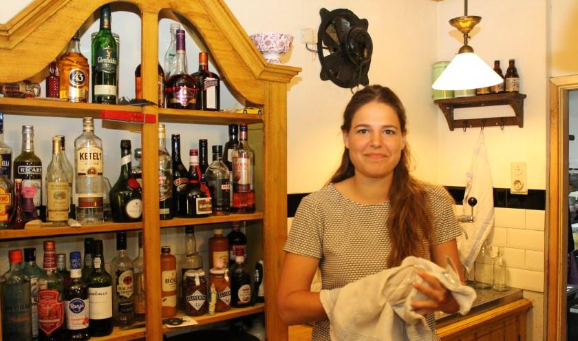 """Maria Wesdorp; """"Mijn passie voor Peeland is de Houzaagwerf."""" Foto: Leon Janssens"""