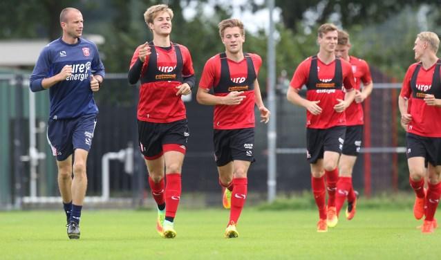 Als een van de eerste clubs in de Eredivisie begint FC Twente deze week al weer aan de voorbereiding op het nieuwe seizoen. Foto: FC Twente Media
