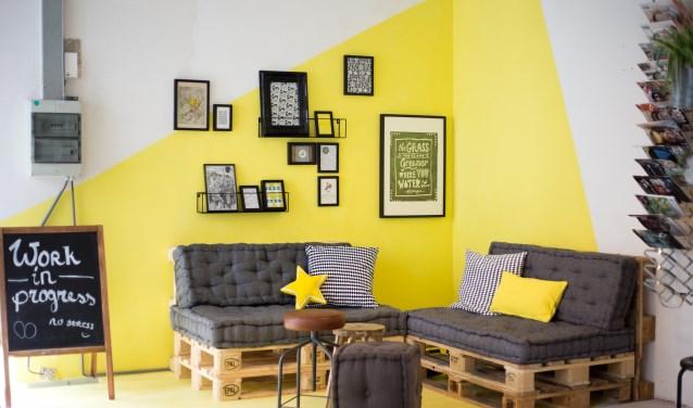 Spinnerij Oosterveld heeft er een nieuwe werkplek voor creatieve ondernemers bij onder de noemer 'Krachthonk'.