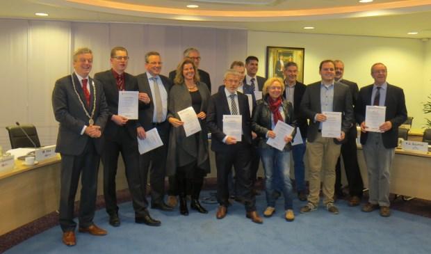 Ook de Aalburgse raad heeft een AEd certificaat.