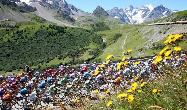 Nederland zit binnenkort weer massaal voor de buis om de Tour de France te volgen. Behalve van de sportprestaties kan er ook altijd genoten worden van het Franse landschap. (Foto: de Persgroep)