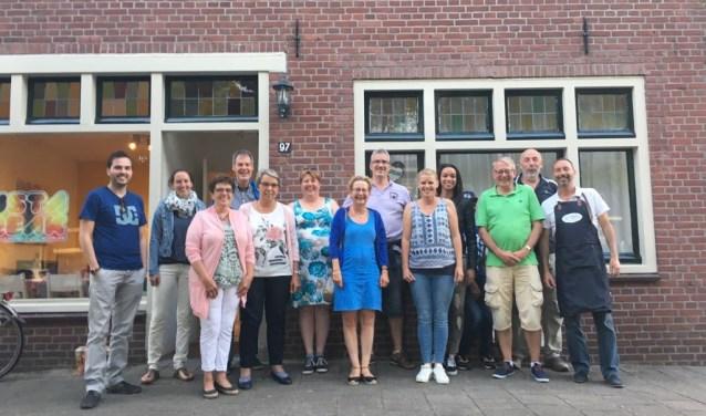De vrijwilligers van Just A Break werden afgelopen juni in het zonnetje gezet.