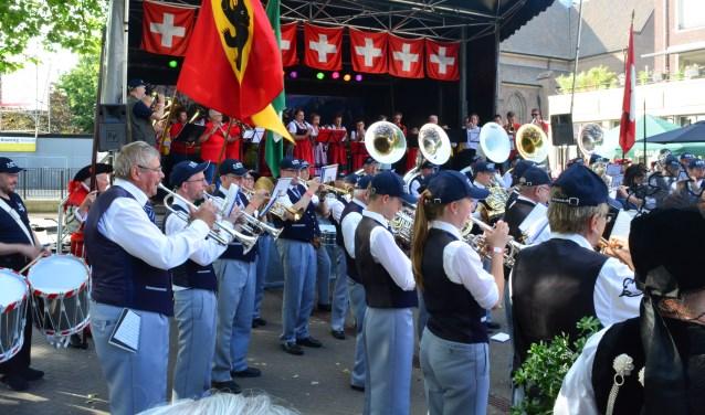Op zondag 16 juli zal het Internationale Kapellenfestival Bemmel plaatsvinden op het vernieuwde Marktplein. (Foto: PR)