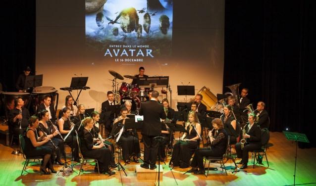 Filmconcert Aurora goes to Hollywood met muziek uit bekende films, zoals James Bond.