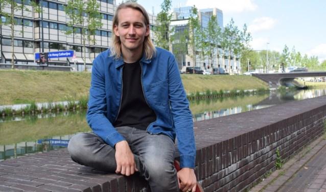 Tim van den Hoed heeft het geld voor de Utrechts Boekenbar inmiddels al binnen.