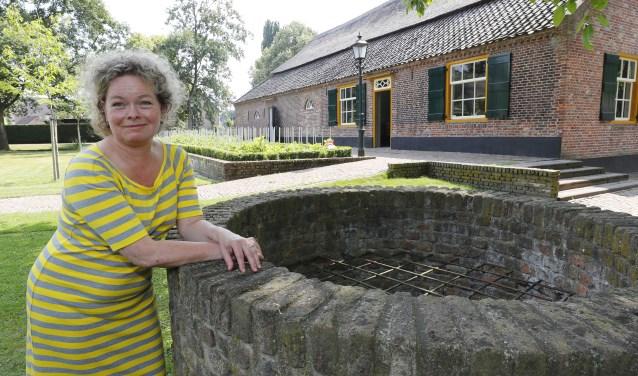 Anette Redegeld neemt na 7 jaar afscheid als directeur van museum 't Oude Slot. (Foto: Bert Jansen).