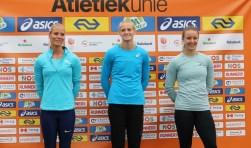 Op foto (vlnr) Nadine Broersen, Anouk Vetter en Carlijn ter Laak.