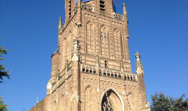 Op dinsdag 18 juli kunnen alle wandelaars van de Vierdaagse even rusten bij de Grote Kerk in Elst, die weer op de looproute ligt. (Foto: PR)