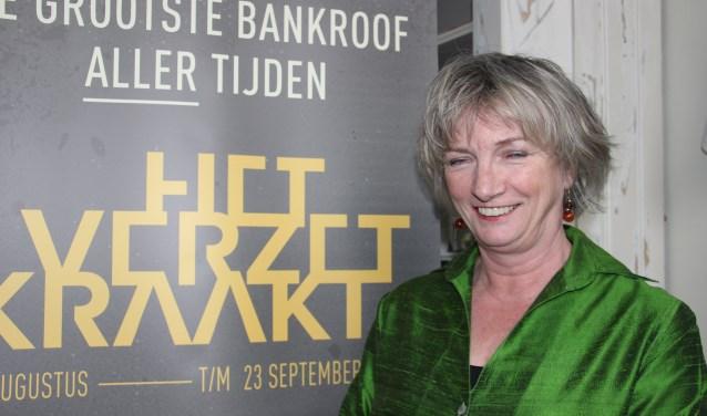 Riet Strijker heeft vele gesprekken gevoerd met nabestaanden van verzetsmensen die betrokken waren bij de grote bankroof