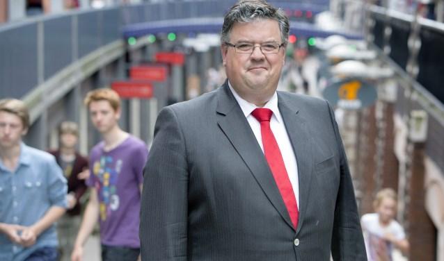 """Burgemeester Hubert Bruls: """"Voor even is Nijmegen het centrum van het land."""""""