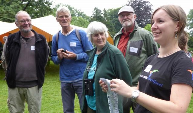 Op de vrijwilligersdag van Natuur en Natuur en Milieu Overijssel kwamen veel geinteresseerde bezoeker af.