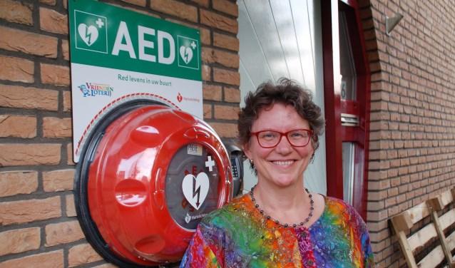Sonia van Nispen, voorzitter van de vereniging Mens- en Milieuvriendelijk Wonen Zwolle Stadshagen.