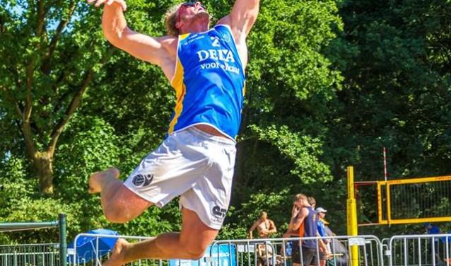 Bij het eredivisie beachvolleybal in Groningen stonden er bij zowel de mannen als de vrouwen Irene Beachers op het podium.