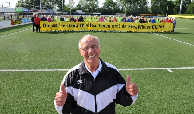 Bennie Overbeek. (foto: Roel Kleinpenning)
