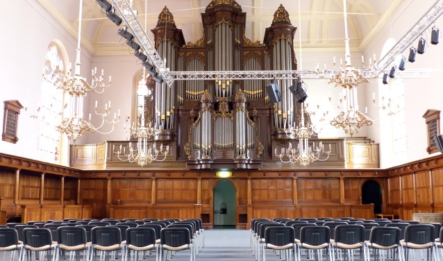 De Rijssense Dick Sanderman werkt mee aan het zaterdagmiddagconcert in Enschede.