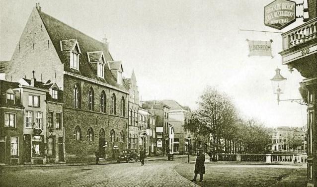 Rozengracht in Zutphen, begin 1900. (Fotocollectie Zutphense Musea)