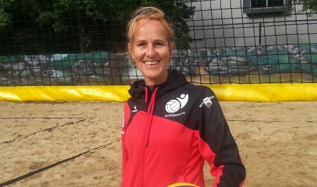 Rieneke Wielenga gaat bij Velo als trainer bij Heren 1 Volleybal aan de slag. Foto: Nico Mos