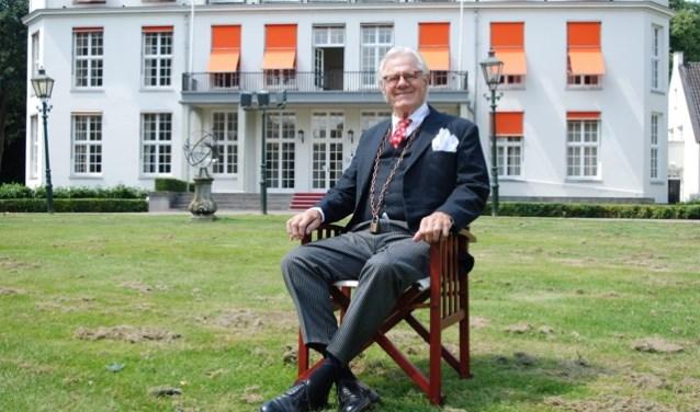 Nachtburgemeester Jhr Van den Borch tot Verwolde (foto: Anneke Iseger)