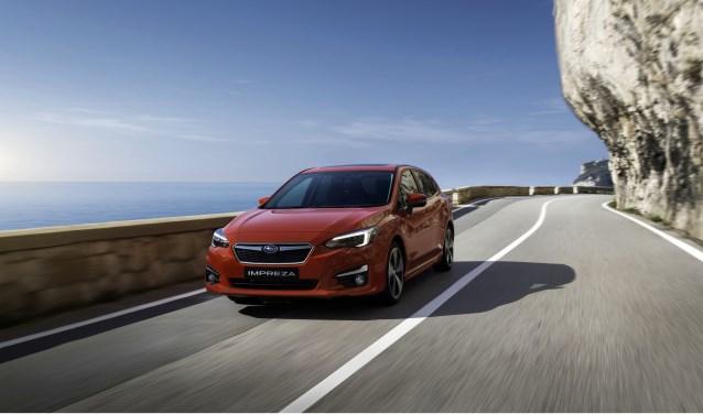 De nieuwe Subarua Impreza is zaterdag te zien bij Zuithof in Bornerbroek.