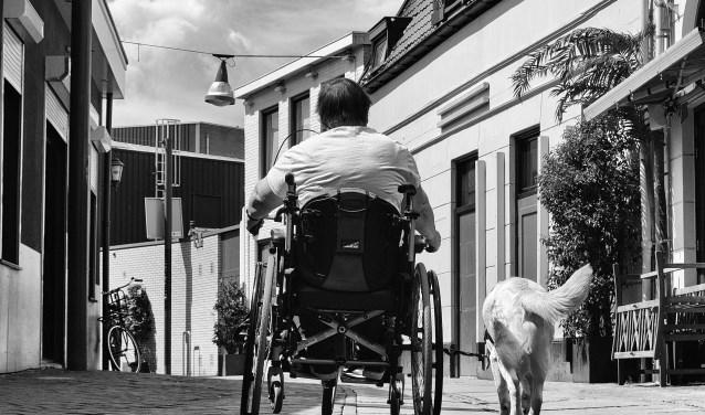 ''Mensen met een beperking of een chronische ziekte hebben, net als iedereen, het recht om zelfstandig aan de samenleving deel te nemen'', aldus Artikel 1 Overijssel. Foto: Cyril Wermers