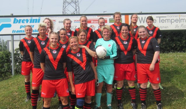 De dames van v.v. Papendrecht. (Foto: Privé)