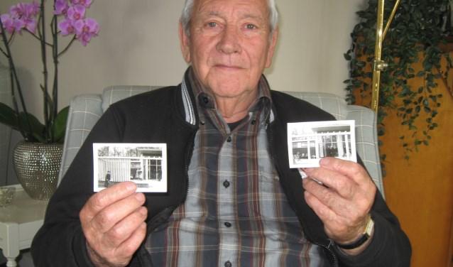 Jan Burgersdijk bewaart mooie herinneringen aan de tijd dat hij ijsjes verkocht in het Chalet. Een enkele foto uit die tijd is nog in zijn bezit.