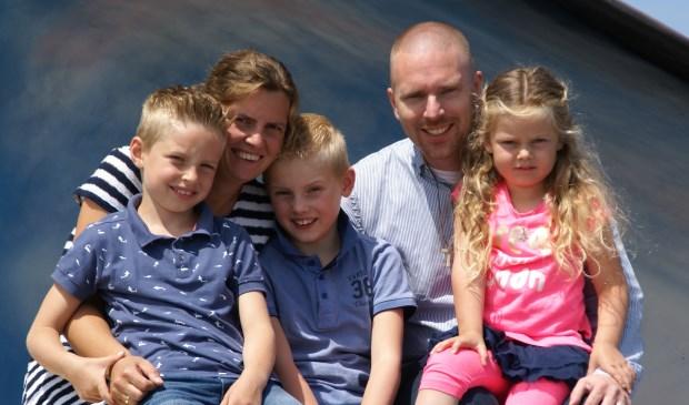 Het gezin Den Oudsten.