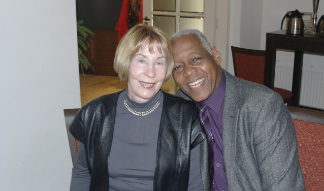 Betsy Martina-Frielink samen met haar man Bert Martina