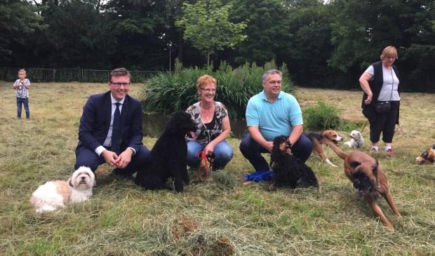 De hondenspeelplaats in Krimpen aan den IJssel dankzij een geslaagd burgerinitiatief. Foto: Vivian Spoormaker