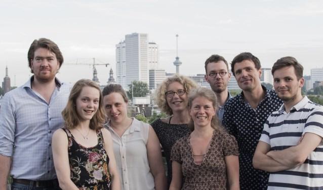 Een opvallend concert van deze groep; zaterdag 15 juli in de Nieuwe Kerk in Zierikzee. FOTO: PR