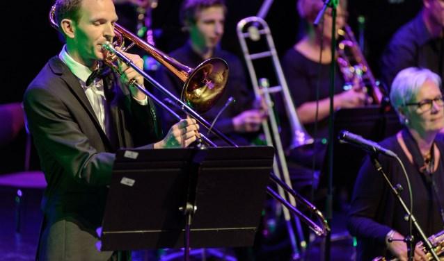 Kevin Bouter speelde solo. (foto: Danny van der Weck)