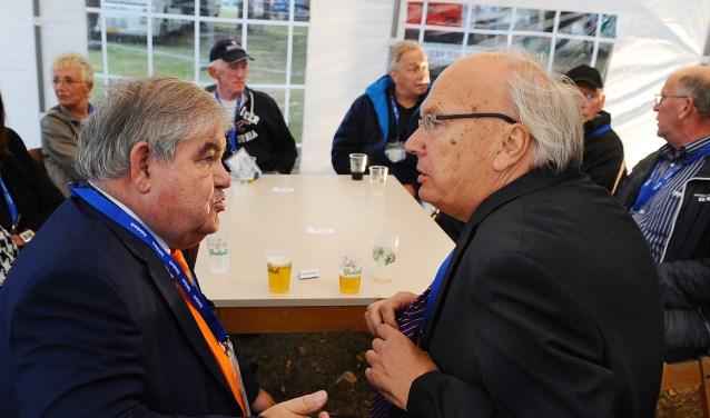 Gerard van Balveren (links) en Toon Frazer. (foto: Roel Kleinpenning)