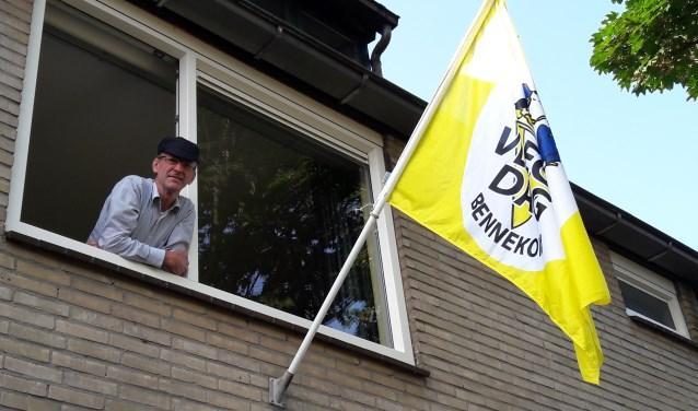 Peter Wijngaard, de man die boer wilde worden, maar bosbouwer en ICT-er werd, is de nieuwe voorzitter van dat mooie boerenoogstfeest, de Bennekomse Vlegeldag.