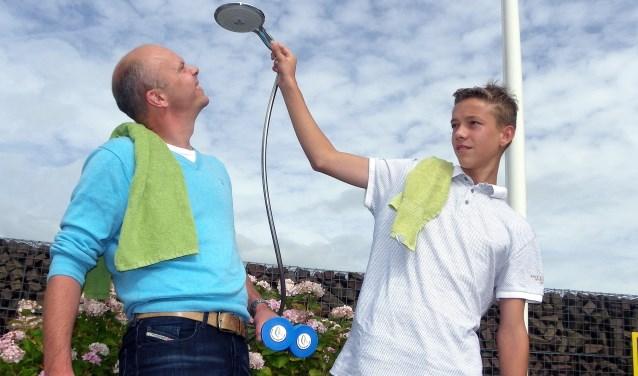René Voogt (li) en Jesper van Zoest doen mee aan de verkiezing Beste Idee Plantarium 2017. René in de bedrijvencategorie en Jesper in de studentencategorie.