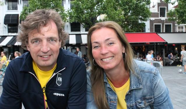 Van burgemeester René Verhulst en zijn vrouw Desiree Meulemans kan donderdag afscheid worden genomen. FOTO: LEON JANSSENS
