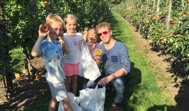 Joost Bosman is de trotse vader van Wietse (8), Jinthe (6) en Eefke (5).